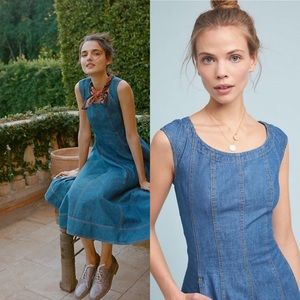 Anthropologie Pilcro Denim Dress